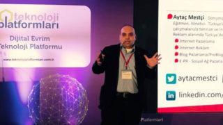 Aytaç Mestçi, Dijital Evrim Teknoloji Platformu'na Katıldı