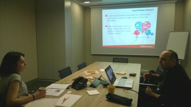 MarkeFront - Sosyal Medya Yönetim Strateji Eğitimi 26 Mayıs'ta Gerçekleşti