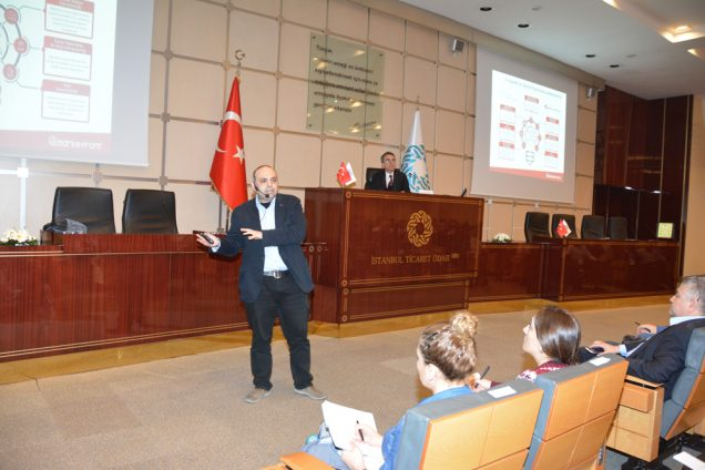 Aytaç Mestçi, İTO'nun e-Ticaret ve Dijital Pazarlama Eğitim Semineri'nde Sunum Gerçekleştirdi